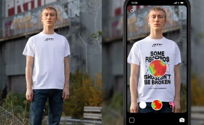 İşte dünyanın ilk artırılmış gerçeklik tişörtü