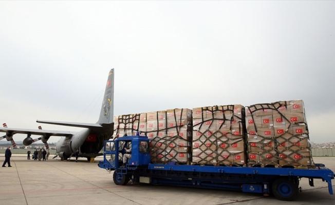 Türkiye'nin Filistin'e göndereceği tıbbi malzemeler bu akşam yola çıkacak
