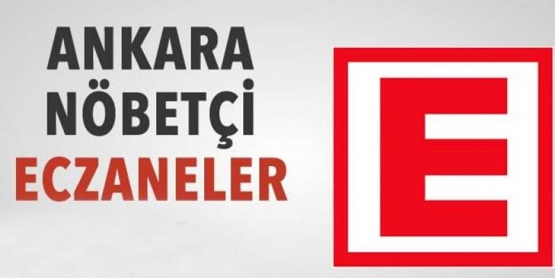 Ankara 29 Haziran Nöbetçi Eczaneler