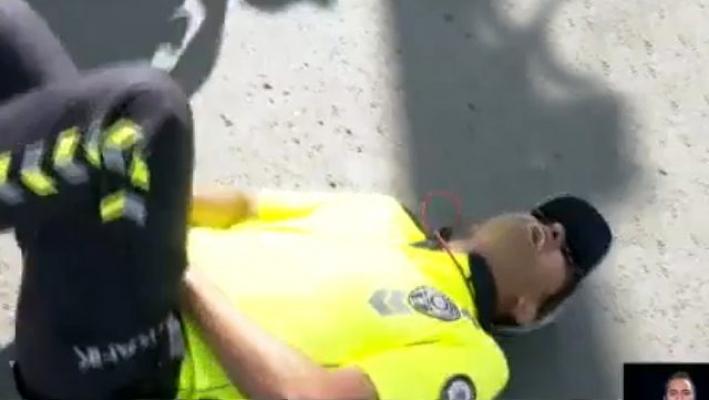 Ankara'da Vatandaş Polise Saldırdı: Polis Memuru Olduğu Yere Yığıldı