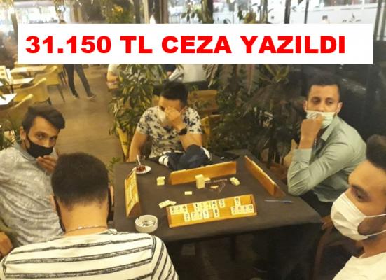 Başkent'te Okey Oynayan Kafeye Baskın Yapıldı!