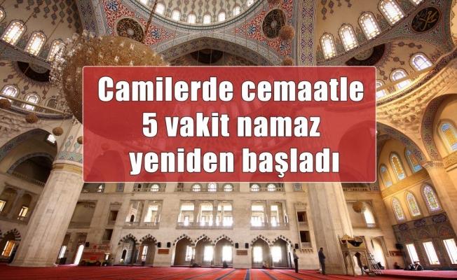 Camilerde 5 Vakit Namaza Başlandı