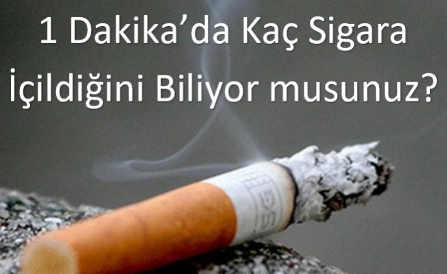 Dünyada 1 Dakikada İçilen Sigara Sayısını Biliyor Musunuz?