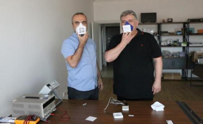 Türk Bilim insanlarından virüsü yok eden yerli elektronik maske