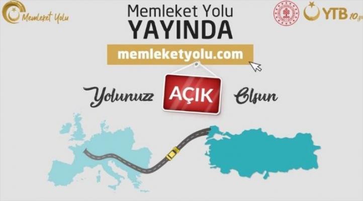 Türkiye'ye gelecekler için 'Memleket Yolu' internet sitesi