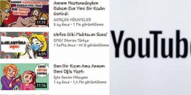Youtube'daki çocuk istismarına Bakanlık el koydu