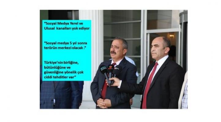 """AYD Başkanı Burhan: """"Sosyal Medya, Yerel ve Ulusal kanalları yok ediyor """""""