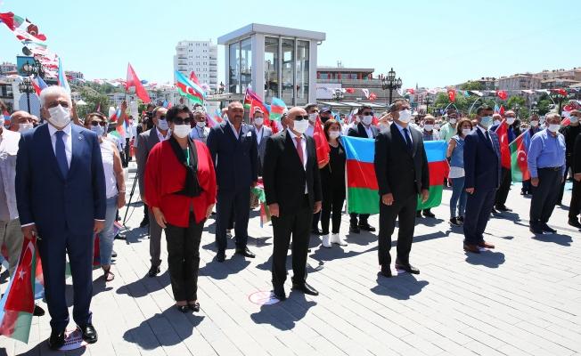 KEÇİÖREN BELEDİYESİNDEN AZERBAYCAN'A BÜYÜK DESTEK