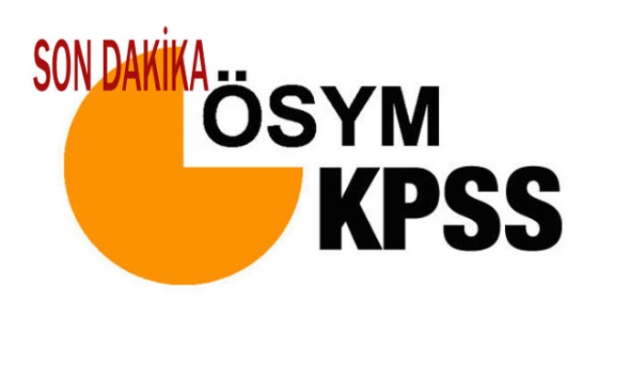 ÖSYM Başkanı Aygün: KPSS-2020/1 tercih işlemlerini başlatıyoruz