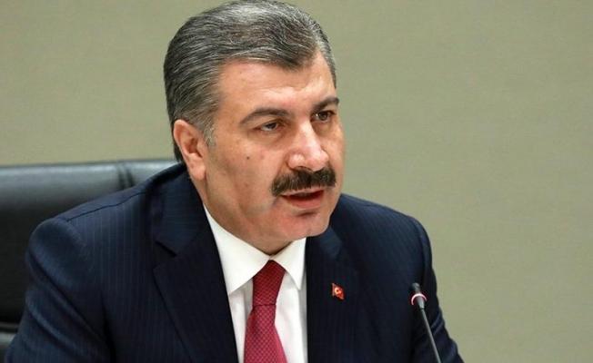 """Sağlık Bakanı Koca: """"Hastaneye kaldırılan 114 kişiden 92'si taburcu oldu"""""""