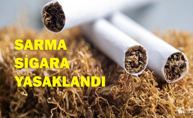Sarma Sigara Artık Yasak.. Cezası Çok Ağır