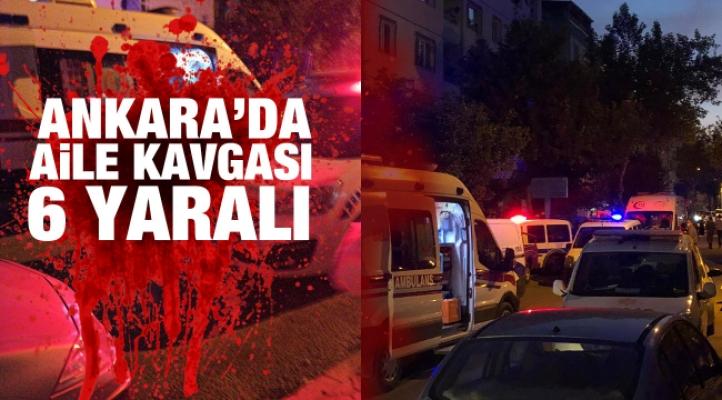 Başkent'te aile arasında kavga: 6 yaralı