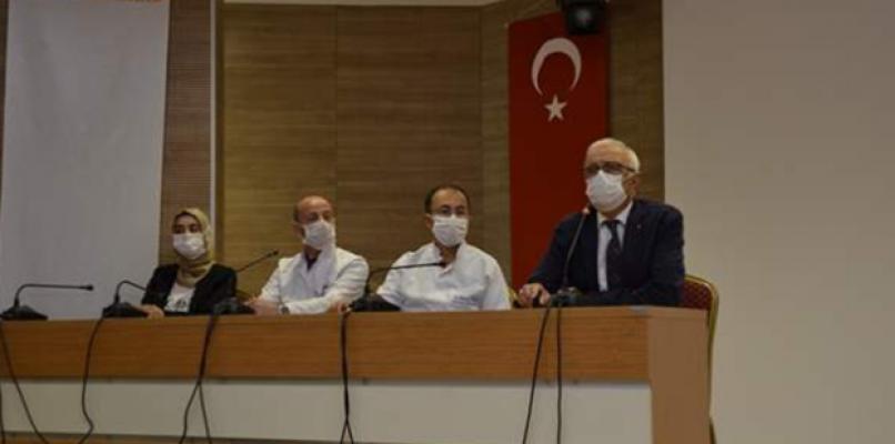 Bu ilde bir ayda 40'tan fazla sağlık çalışanı virüse yakalandı