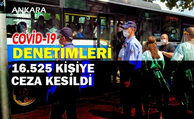 Ankara'da Koronavirüs denetimleri...