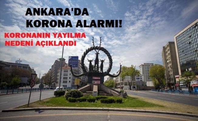 Ankaralılar koronavirüsü nereden kaptı?
