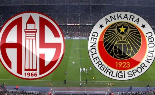 Gençlerbirliği, Süper Lig'in ilk haftasında yarın Antalyaspor'a konuk olacak