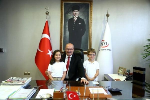 ATO Başkanı Baran, Cumhuriyet'in 97. yılını kutladı