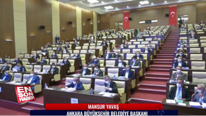 """Mansur Yavaş ile AK Partili meclis üyesi arasında tartışma: """"konuşamazsın"""""""