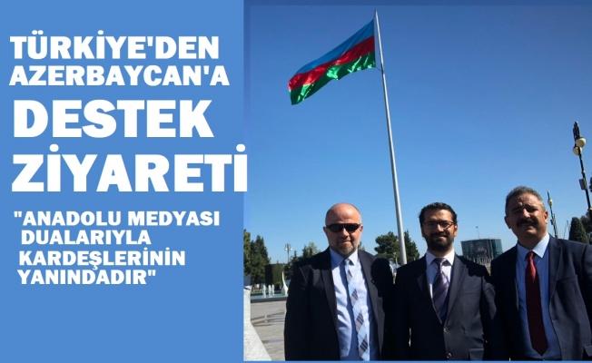 Türk Basınından Azerbaycan'a önemli ziyaret