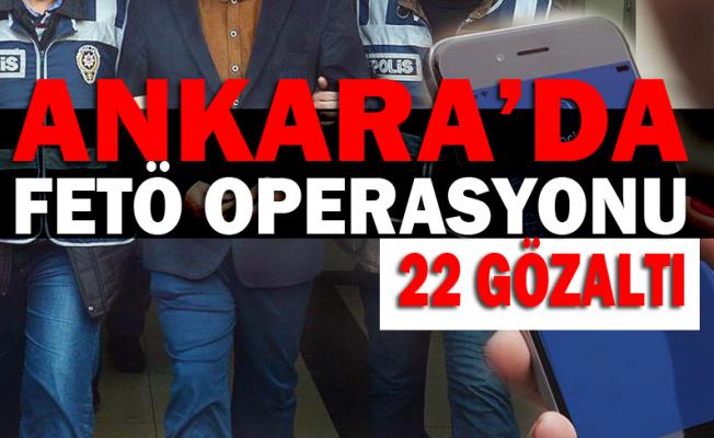 Ankara'da Operasyonlar Devam Ediyor