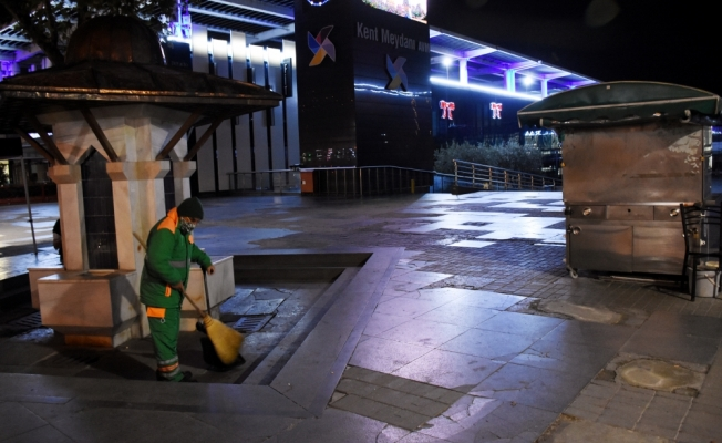 Bursa ve çevre illerde sokağa çıkma kısıtlamasına uyuluyor