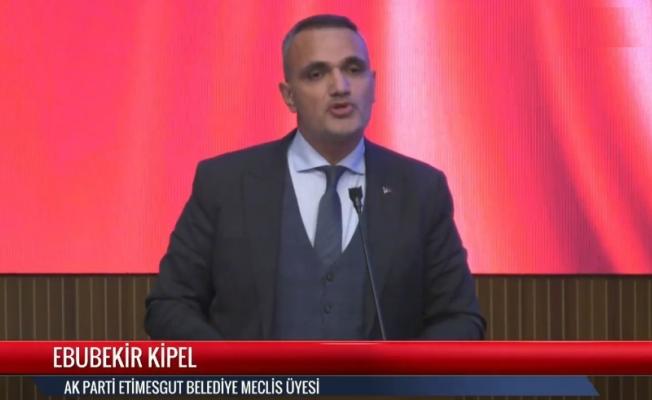 Ebubekir Kipel'in Büyükşehir Belediyesi bütçe değerlendirmesi