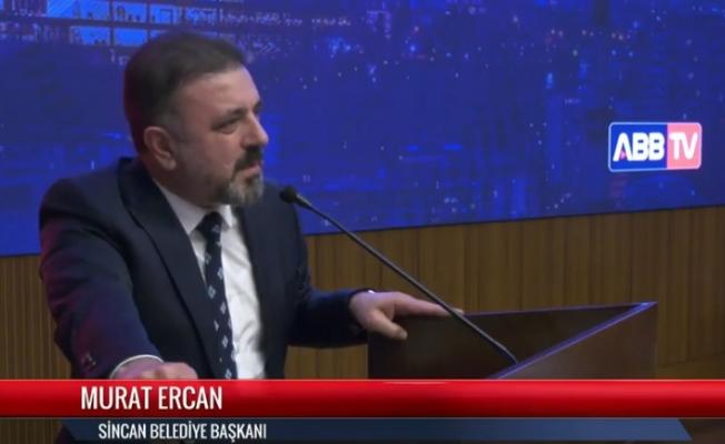 """Murat Ercan: Biz hizmet yarışında sadece Sincan'ı değil Ankara'yı da gururla temsil ediyoruz"""""""