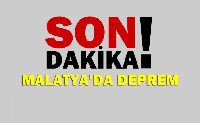 Son dakika haberi Malatya'da 4,7 büyüklüğünde deprem oldu!