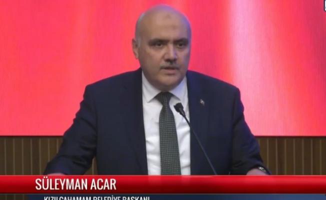 """Süleyman Acar: """"200 mezarlığın bakımını biz yapıyoruz, Büyükşehir değil!"""