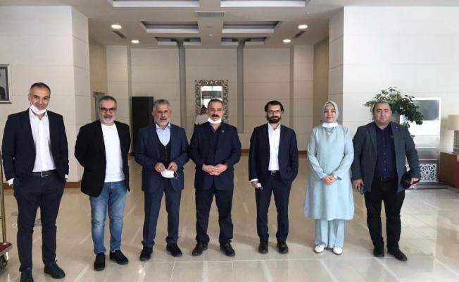 Azerbaycan'dan AYD ve Gazetecilere Teşekkür Belgesi