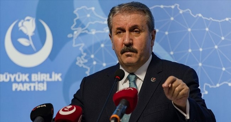 BBP Genel Başkanı Mustafa Destici: HDPKK kapatılmalıdır