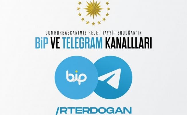 Cumhurbaşkanı Erdoğan'dan Telegram ve BİP hamlesi!