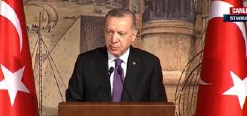 Cumhurbaşkanı Erdoğan, DEİK üyeleri ile bir araya geldi