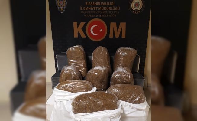 Kırşehir'de 150 kilogram kaçak tütün ele geçirildi