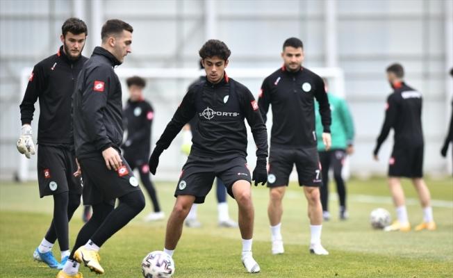 Konyaspor, Gaziantep FK maçı hazırlıklarına başladı