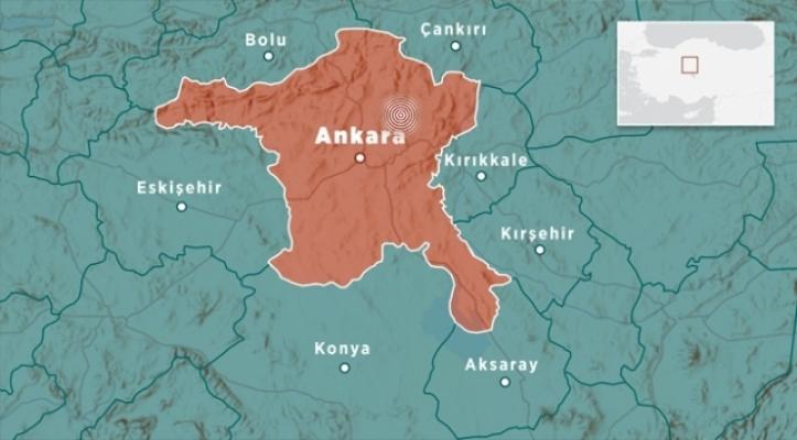 Son Dakika! Ankara'da Deprem