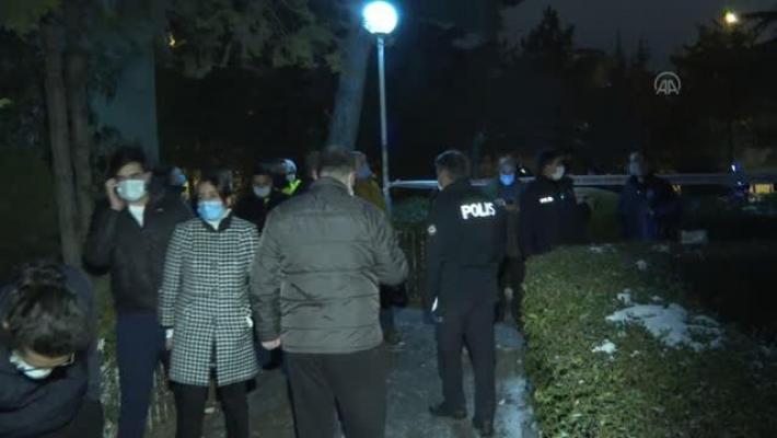 Ankara Yenimahalle'de doğal gaz patlaması: 2 yaralı