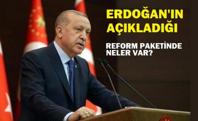"""Erdoğan'ın açıkladığı """"Reform Paketi""""nin detayları belli oldu"""