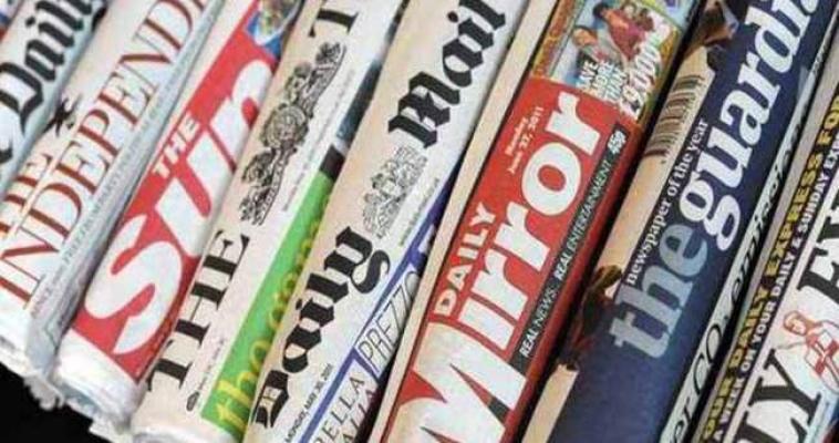 İngiliz basınında skandal terör reklamı