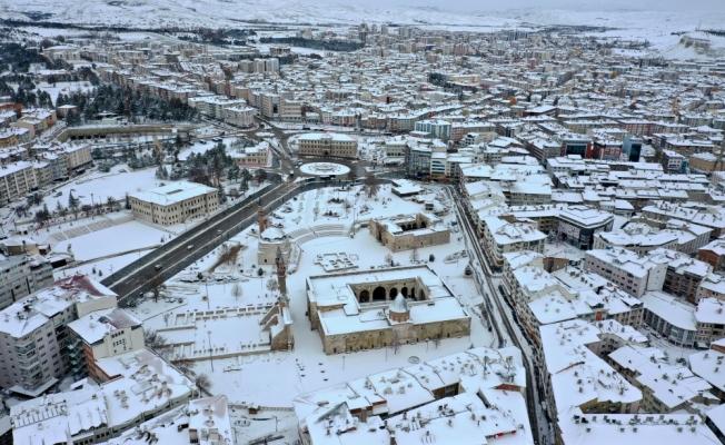 Kayseri, Sivas, Nevşehir ve Kırşehir'de kış güzelliği