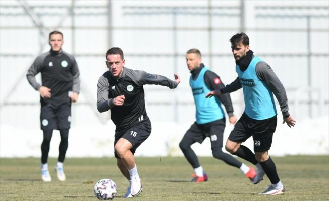 Konyaspor'da Gaziantep maçı hazırlıkları