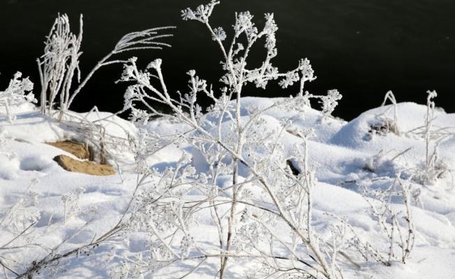Sivas'ta soğuk hava etkisini sürdürüyor