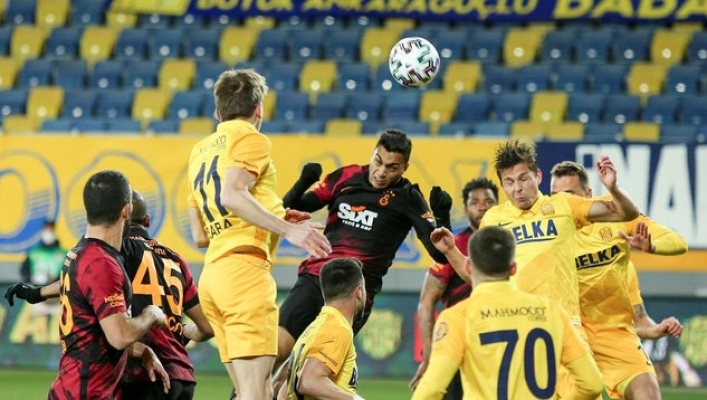 Ankaragücü Galatasaray'a acımadı