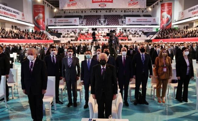 MHP 'Bahçeli ile devam' dedi! Cumhurbaşkanı adayını duyurdu