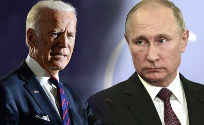 Son daika: Putin'den ABD Başkanı Biden'a cevap
