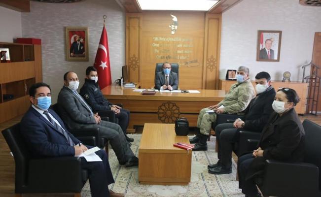 Ulaş'ta Kovid-19 değerlendirme ve istişare toplantısı yapıldı