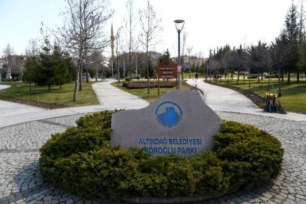 Altındağ'da Köroğlu parkı yenileniyor