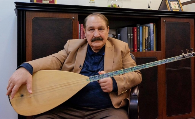 Halk ozanı Hilmi Şahballı: Türkülerimiz bize yol gösteren öğretmendir
