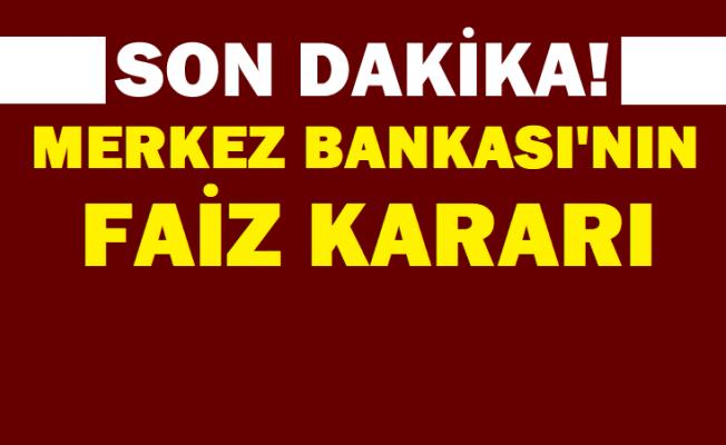 Merkez Bankası'nın 15 Nisan faiz kararı