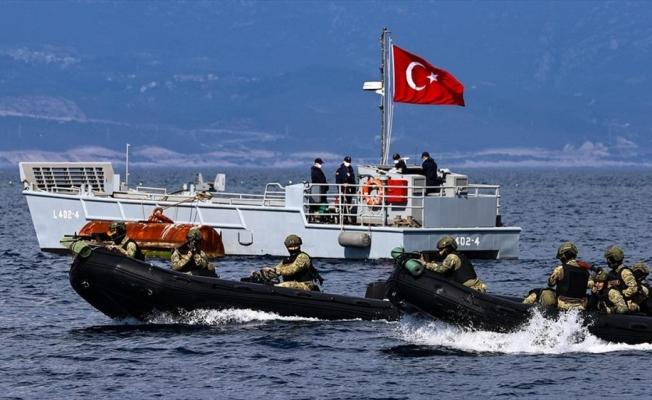 'Timsahlar' Mavi Vatan'daki zorlu görevlere milli gemilerdeki eğitimlerle hazırlanıyor